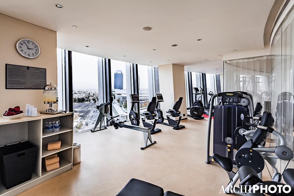 AS. Architecture-Studio • Rotana Hotel, Amman, Jordan • Bodylines Fitness & Wellness Club