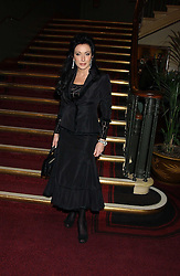 NANCY DELL'OLIO at the Pakistan Earthquake Appeal Concert & Fashion Show held at The Royal Albert Hall, London on 13th December 2005.<br /><br />NON EXCLUSIVE - WORLD RIGHTS