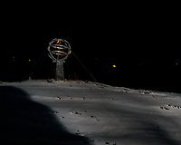 Arctic Circle Marker. Image taken with a Nikon D800 camera and 180 mm f/2.8 lens (ISO 800, 180 mm, f/2.8, 1/30 sec).