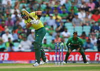 Cricket - 2019 ICC Cricket World Cup - Group Stage: South Africa vs. Bangladesh<br /> <br /> South Africa's Aiden Markram in action today during the ICC Cricket World Cup match between South Africa and Bangladesh, at The Kia Oval.<br /> <br /> COLORSPORT/ASHLEY WESTERN