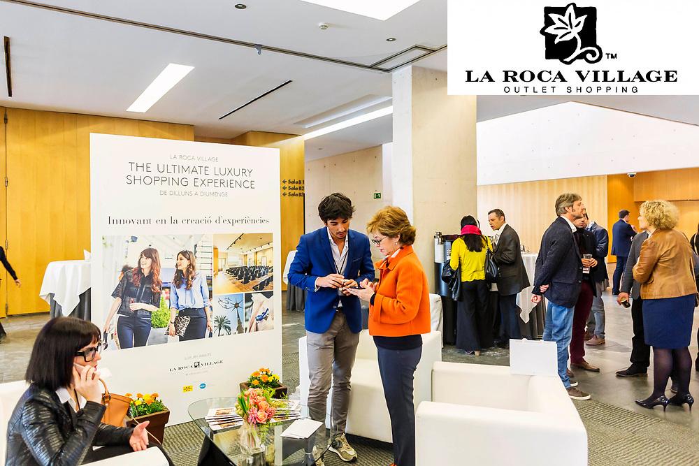 El grup comercial outlet La Roca Village, present al segon congrés de turisme de reunions de Catalunya celebrat a Barcelona.