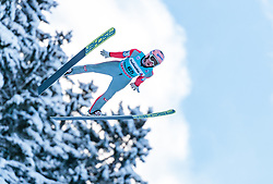 15.12.2017, Gross Titlis Schanze, Engelberg, SUI, FIS Weltcup Ski Sprung, Engelberg, im Bild Stefan Kraft (AUT) // Stefan Kraft of Austria during Mens FIS Skijumping World Cup at the Gross Titlis Schanze in Engelberg, Switzerland on 2017/12/15. EXPA Pictures © 2017, PhotoCredit: EXPA/JFK