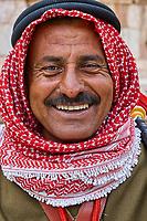 Jordanie - Site archeologique de Jerash - Homme jordanien//Archeological site of Jerash - Jordan