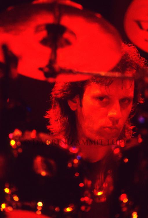 Dave Weckl (Mike Stern), 1994<br /> Photo by Darrin Zammit Lupi