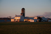 Farm across the road from Ralph Rohrer's turkey farm on Dry Creek Road, Dayton, Virginia