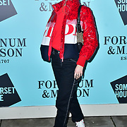 Dylan Weller arrivers Skate at Somerset House with Fortnum & Mason Launch party, London, Somerset House, 12 November 2019, London, UK.