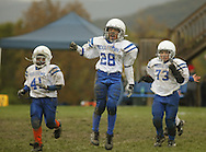 Salisbury Mills, NY - Middletown plays Washingtonville in an Orange County Youth Football League Division 1 game on Oct. 18, 2009.