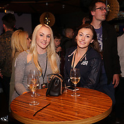 London,England,UK. 14th May 2017. Mica McNeill ,Anna Alexander formal British bobsleigh attends the after party of the BBL Play-Off Finals also fundraising for Hoops Aid 2017 but also a major fundraising opportunity for the Sports Traider Charity at London's O2 Arena, UK. by See Li