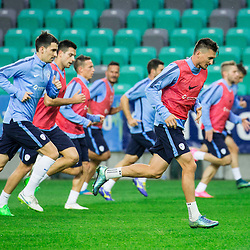 20151007: SLO, Football - Slovenian National team at practice session in Stozice