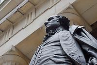 George Washington statue in New York October 2008