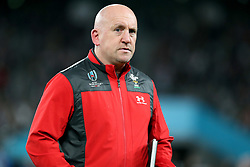 Shaun Edwards (Assistant Coach) of Wales during the Bronze Final match between New Zealand and Wales Mandatory by-line: Steve Haag Sports/JMPUK - 01/11/2019 - RUGBY - Tokyo Stadium - Tokyo, Japan - New Zealand v Wales - Bronze Final - Rugby World Cup Japan 2019