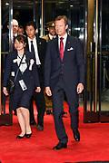 De Japanse keizer Naruhito heeft officieel de troon aanvaard en de belofte afgelegd dat hij zijn plicht als symbool van de staat zal vervullen. De 59-jarige Naruhito deed dat in een eeuwenoude ceremonie in de belangrijkste zaal van het keizerlijke paleis in Tokio in aanwezigheid van staatshoofden en gasten uit meer dan 180 landen.<br /> <br /> The Japanese emperor Naruhito has officially accepted the throne and made the promise that he will fulfill his duty as a symbol of the state. The 59-year-old Naruhito did that in an ancient ceremony in the main hall of the Imperial Palace in Tokyo in the presence of heads of state and guests from more than 180 countries.<br /> <br /> Op de foto / On the photo:   Henri  Groothertog van Luxemburg / Henri Grand Duke of Luxembourg