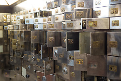 EDITORIAL USE ONLY<br /> File photo dated 24/10/16 of safety deposit boxes at the Hatton Garden Safe Deposit, in Hatton Garden, London. The Hatton Garden burglars would have sold almost &pound;10 million worth of loot taken during the raid for a fraction of its market value, a court heard.