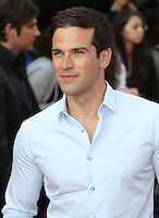 Gethin Jones The Inbetweeners Movie world premiere, Vue Cinema, Leicester Square, London, UK, 16 August 2011:  Contact: Rich@Piqtured.com +44(0)7941 079620 (Picture by Richard Goldschmidt)