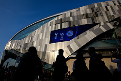 A general view of The Tottenham Hotspur Stadium ahead of the Champions League Semi-Final between Tottenham Hotspur and Ajax - Mandatory by-line: Robbie Stephenson/JMP - 30/04/2019 - FOOTBALL - Tottenham Hotspur Stadium - London, England - Tottenham Hotspur v Ajax - UEFA Champions League Semi-Final 1st Leg