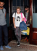Sept. 7, 2014 - New York City, NY, United States - <br /> <br /> Singer Miley Cyrus leaves a downtown hotel on September 7 2014 in New York City<br /> ©Exclusivepix