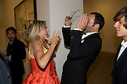 Countess Maya von Schonburg; Tom Ford-Mario Testino: Obsessed by You -  private view<br />Phillips de Pury & Company, Howick Place, London, SW1, 2 July 2008 *** Local Caption *** -DO NOT ARCHIVE-© Copyright Photograph by Dafydd Jones. 248 Clapham Rd. London SW9 0PZ. Tel 0207 820 0771. www.dafjones.com.