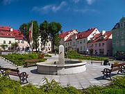 Rynek w Dusznikach-Zdroju, Polska<br /> Market place in Duszniki-Zdrój, Poland