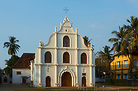 Inde, Etat du Kerala, Kochi ou Cochin, Fort Cochin le centre historique, ile de Vypin, eglise de Notre Dame de l Espoir // India Kerala State, Fort cochin or Kochi,  Vypin island, Church of our Lady of Hope
