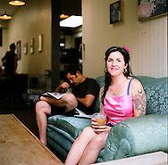 Stumptown Coffee's original location on SE Division Street in Portland, Oregon