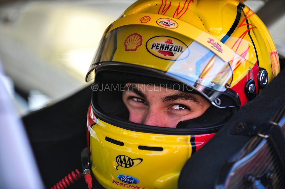 May 5-7, 2013 - Martinsville NASCAR Sprint Cup. Joey Logano, Ford<br /> Image © Getty Images. Not available for license.