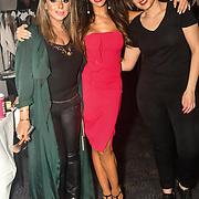 Ellie Salehzahi MUA, Ellie Torrez and Hair Stylist, Stella Tsiledaki  backstage at SMGlobal Catwalk - London Fashion Week F/W19 at Clayton Crown Hotel,  Cricklewood Broadway, on 1st March 2019, London, UK.