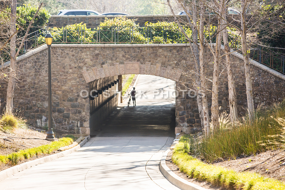 Tunnel at Jeffrey Open Space Trail in Irvine
