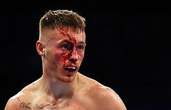 Ryan Burnett in the IBF World Bantamweight Championship bout at Odyssey Arena Belfast.