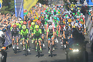 Stage start Aberdare Park during the Stage 5 of the Tour of Britain 2016 from Aberdare to Bath, United Kingdom on 8 September 2016. Photo by Daniel Youngs.