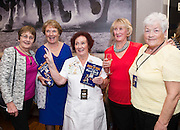 03/11/2016 Repro fee: Rita Gilligan's book The Rock 'n' Roll Waitress from The Hard Rock Cafe My Life in Hotel Meyrick, Galway was launched my Cllr. Noel Larkin Mayor of Galway. At the launch were Maura Forde Taylor's Hill, Maureen Brennan, Ardrahan,  author Rita GilliganGertie Elwood, Kingtston and Margaret Elwood Corandulla, <br /> .   Photo :Andrew Downes, XPOSURE