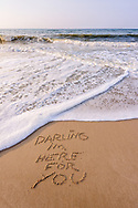 Darling I'm Here For You, Mecox Beach, Water Mill, NY