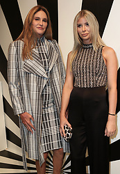 September 12, 2018 - New York City, New York, USA - 9/11/18.Caitlyn Jenner and Sophia Hutchins at the Alice and Olivia SS19 Fashion Presentation during New York Fashion Week in New York City..(NYC) (Credit Image: © Starmax/Newscom via ZUMA Press)