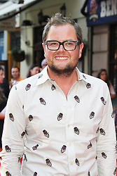 Licensed to London News Pictures. Alan Carr, Alan Partridge: Alpha Papa World Film Premiere, Vue West End cinema Leicester Square, London UK, 24 July 2013. Photo credit: Richard Goldschmidt/LNP