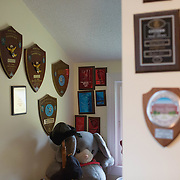 Cheryl has an entire room of her home dedicated to all of her many accolades.