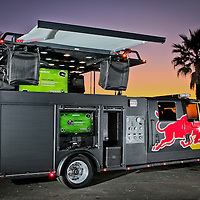 Red Bull Fire Engine DJ Booth
