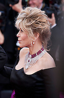 Actress Jane Fonda,<br /> at the gala screening for the film Youth at the 68th Cannes Film Festival, Wednesday May 20th 2015, Cannes, France.