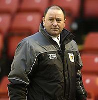 Photo: Aidan Ellis.<br /> Barnsley v Bristol City. Coca Cola League 1. 04/02/2006.<br /> Bristol's manager