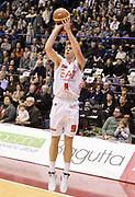 DESCRIZIONE : Milano campionato serie A 2013/14 EA7 Olimpia Milano Vanoli Cremona <br /> GIOCATORE : Nicolo' Melli<br /> CATEGORIA : tiro three points<br /> SQUADRA : EA7 Olimpia Milano<br /> EVENTO : Campionato serie A 2013/14<br /> GARA : EA7 Olimpia Milano Vanoli Cremona<br /> DATA : 26/12/2013<br /> SPORT : Pallacanestro <br /> AUTORE : Agenzia Ciamillo-Castoria/R. Morgano<br /> Galleria : Lega Basket A 2013-2014  <br /> Fotonotizia : Milano campionato serie A 2013/14 EA7 Olimpia Milano Vanoli Cremona<br /> Predefinita :
