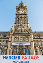 Manchester Town Hall, National Olympic Heroes Parade in Manchester<br /> <br /> (c) John Baguley | Edinburgh Elite media