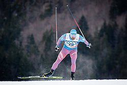 Petukhov Alexey (RUS) during Man 1.2 km Free Sprint Qualification race at FIS Cross<br /> Country World Cup Planica 2016, on January 16, 2016 at Planica,Slovenia. Photo by Ziga Zupan / Sportida