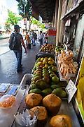 Chinatown, Honolulu, Oahu, Hawaii, fruit , vegetable, market, food
