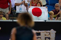 January 17, 2019 - Melbourne, AUSTRALIA - Naomi Osaka Fans at the 2019 Australian Open Grand Slam tennis tournament (Credit Image: © AFP7 via ZUMA Wire)