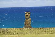 Moai (statue),Easter Island (Rapa Nui), Chile<br />