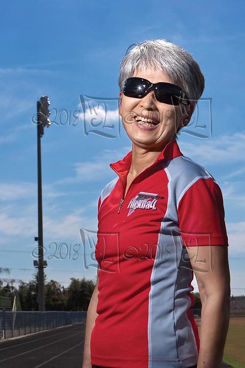 Tampa Senior Games.  Yasuko Greenfield (MR)