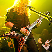 WASHINGTON, D.C.  - March 15 -  Guitar virtuoso Dave Mustaine and his band Megadeth performed to a sold out crowd last night at the 9:30 Club during their Rust In Peace 2010 20th Anniversary Tour.  (Photo by Kyle Gustafson)