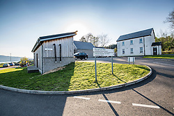 T he fire station is built on the basement, to the left, of the new primary school. News feature on the nearly all-female firefighting crew based at the Fire Shed, Lochaline, on the Morvern Peninsula.