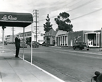 1949 La Rue's Restaurant on Sunset Blvd. in West Hollywood