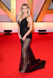 Ellie Brown attending the National Television Awards 2019 held at the O2 Arena, London. PRESS ASSOCIATION PHOTO. Picture date: Tuesday January 22, 2019. See PA story SHOWBIZ NTAs. Photo credit should read: Ian West/PA Wire