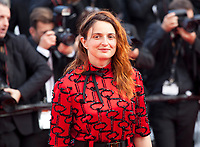Alice Rohrwacher at the closing ceremony and The Specials film gala screening at the 72nd Cannes Film Festival Saturday 25th May 2019, Cannes, France. Photo credit: Doreen Kennedy