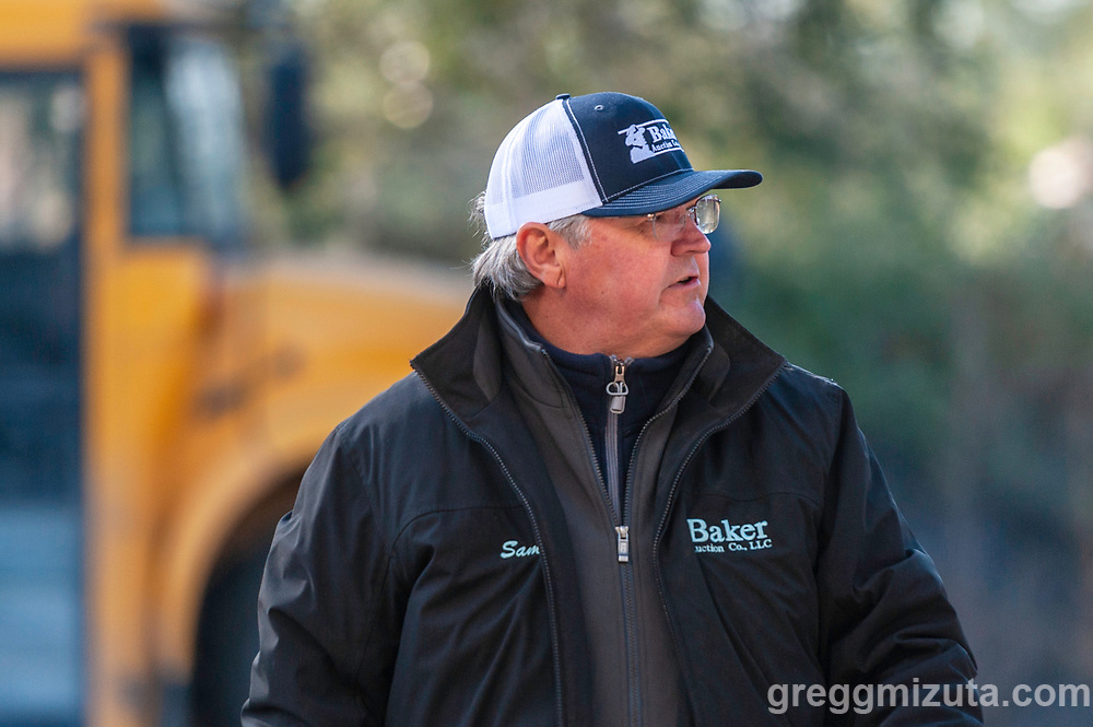 Sam Baker. Vale FFA Harvest Auction in Vale, Oregon on October 12, 2019.<br /> <br /> Baker Auction Co. has been the auctioneers for this event since it started 27 years ago.